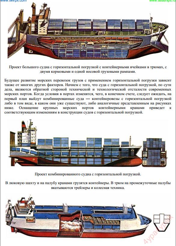 какие формы корпуса применяються на речных и морских судах