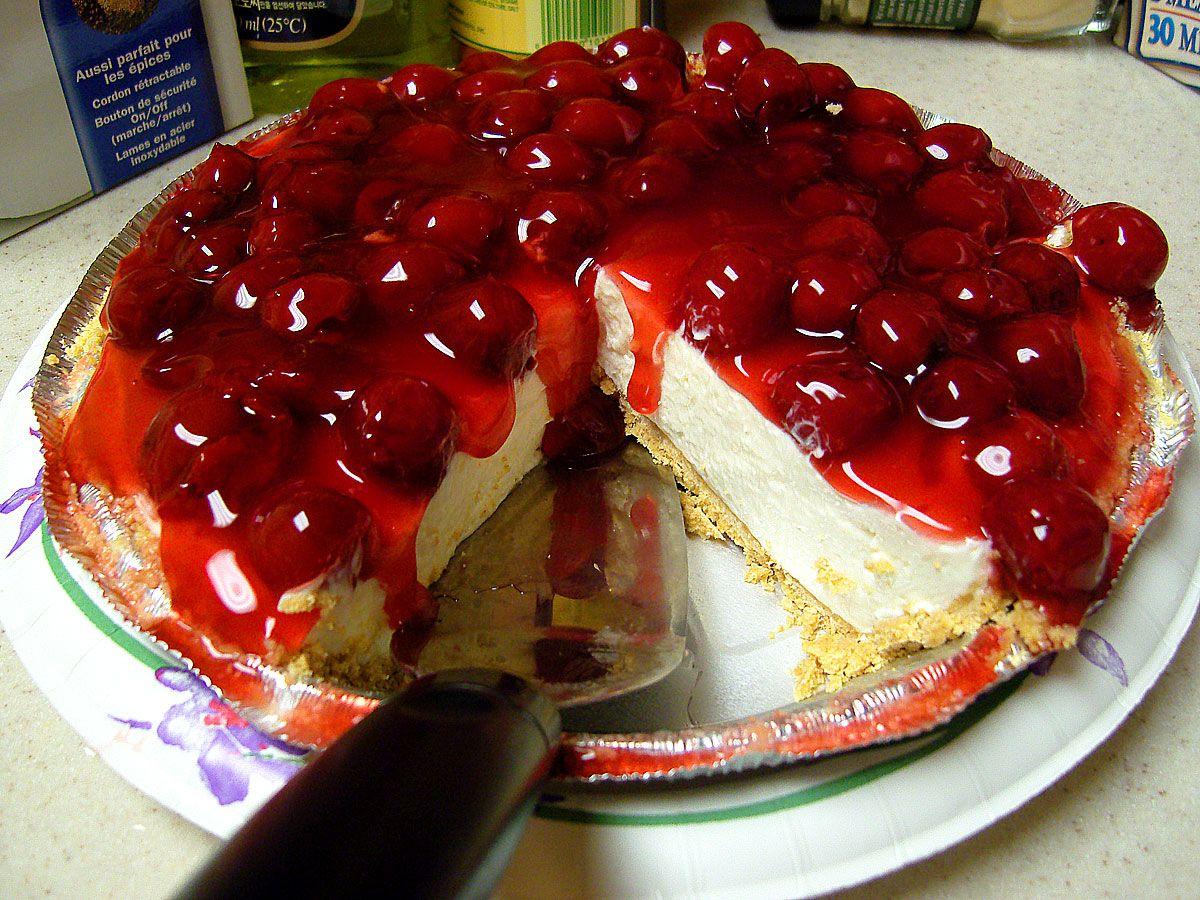 Торт из замороженной вишни рецепт