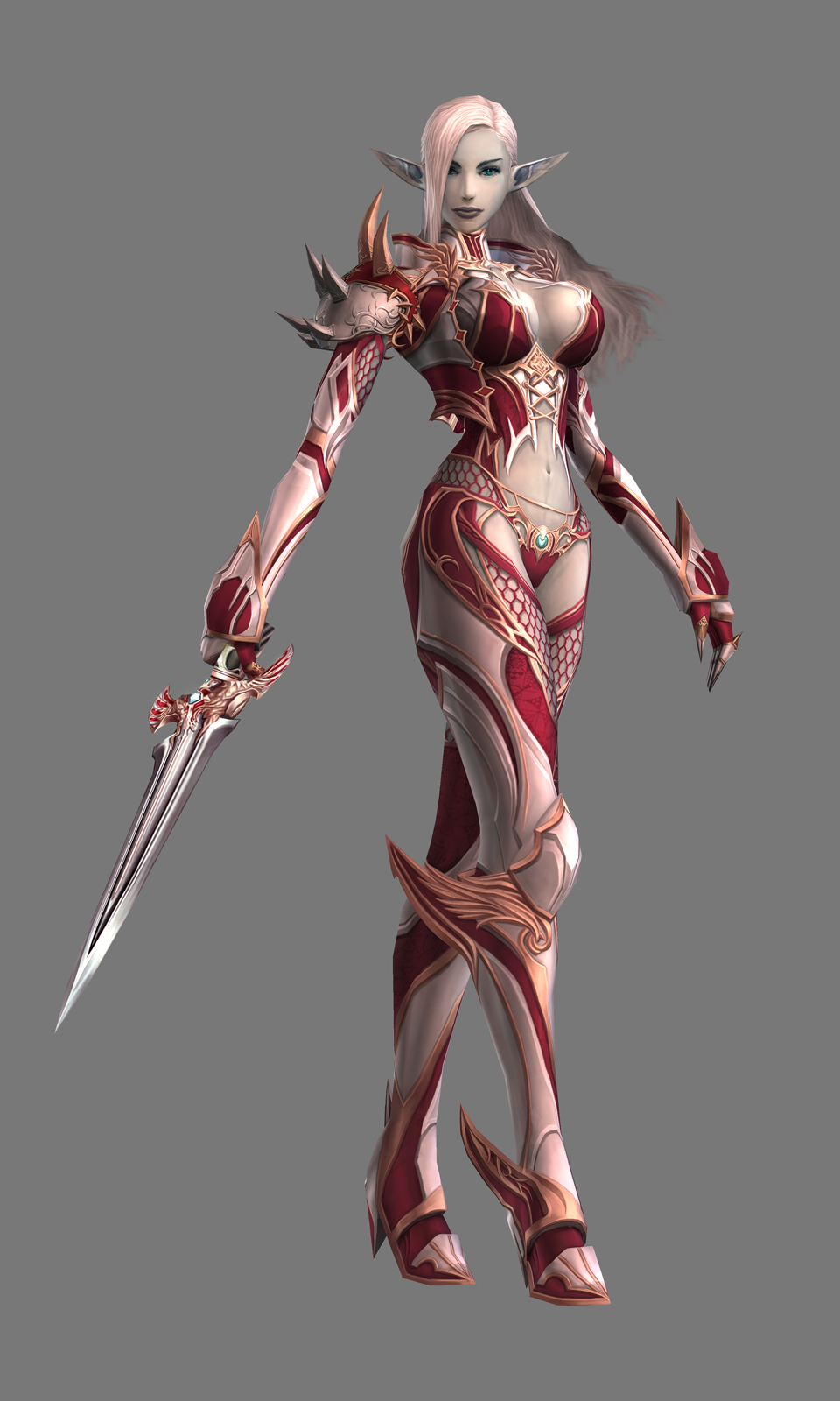 Nude lineage 2 characters in armors adult thumbs