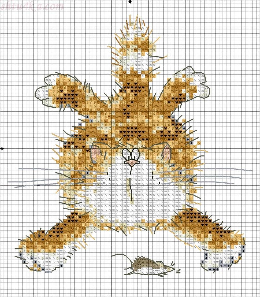 Вышивка крестиком в формате xsd