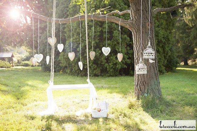 Украшения своими руками на природу для свадьбы