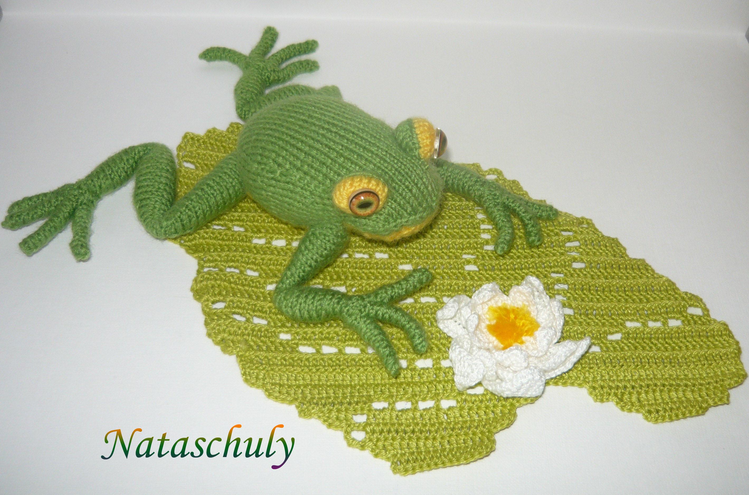Как связать лягушку царевну