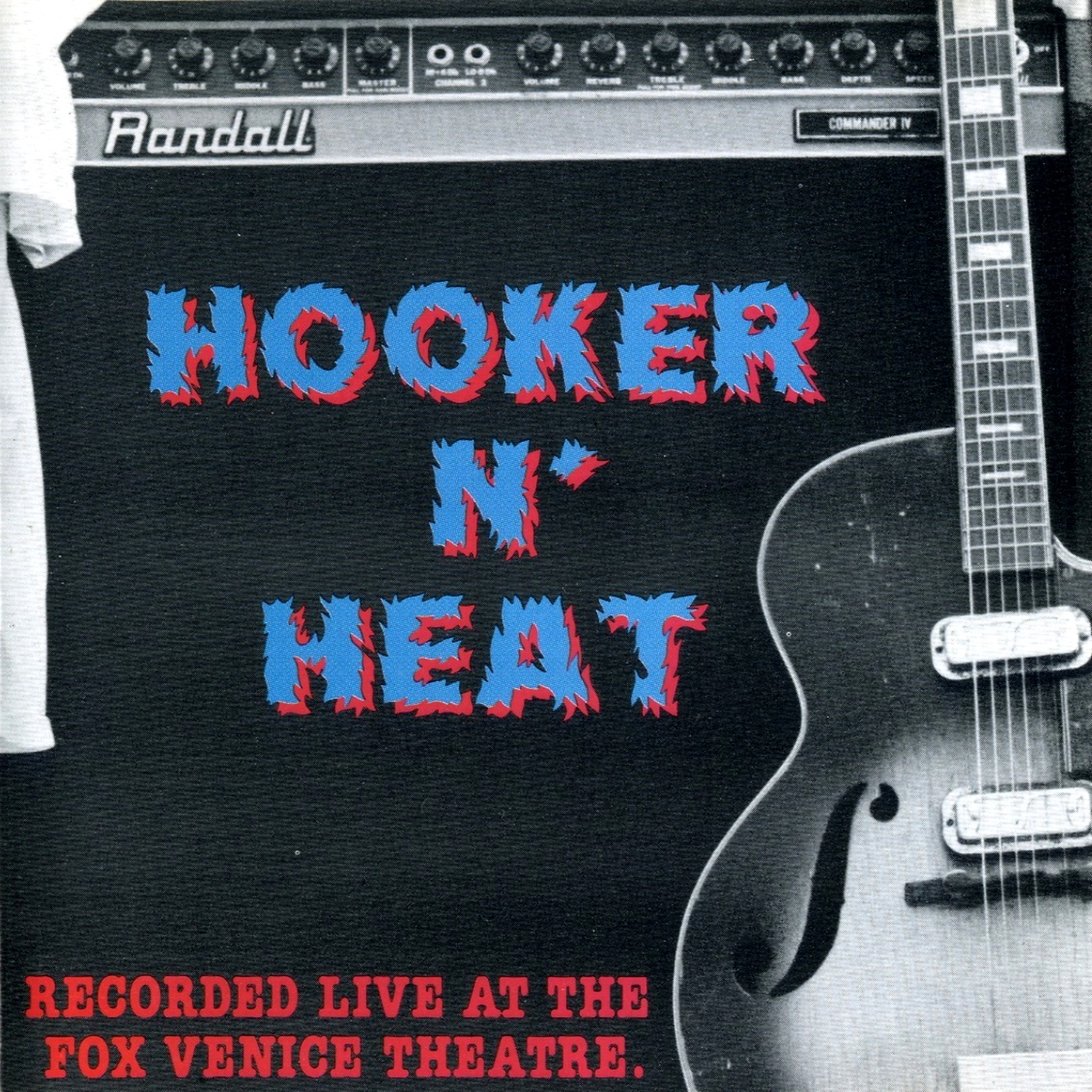 Canned Heat & John Lee Hooker - Hooker 'n Heat - Recorded Live at the Fox Venice Theatre (1981)