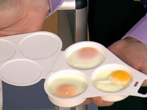 Как приготовить яйцо микроволновке