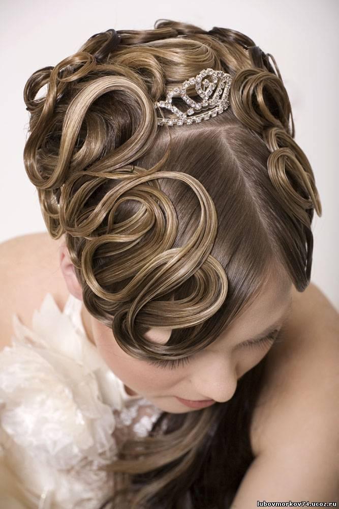 Фото на тему свадебные прически макияж на дому.