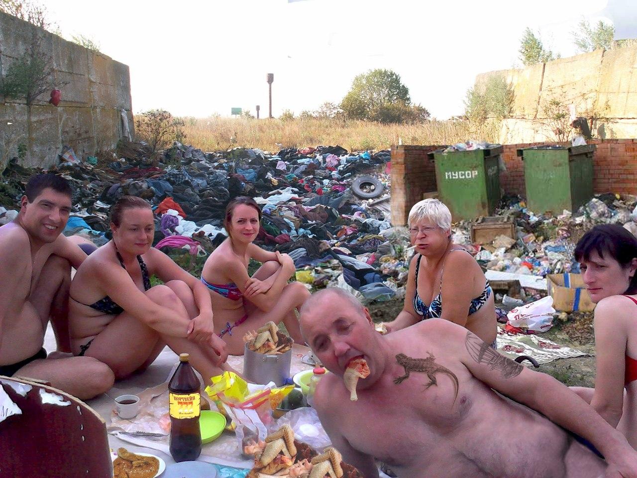 Русские на природе приколы 9 фотография