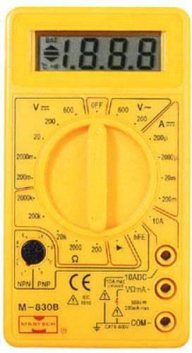 мультиметра Mastech M-830B