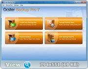 Ocster Backup Pro 7.19