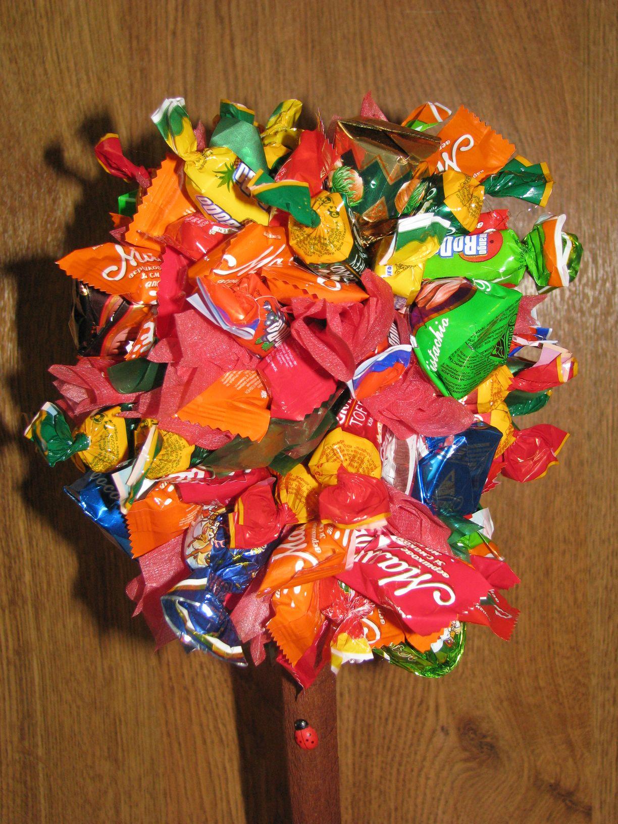 Как из фото сделать конфетку
