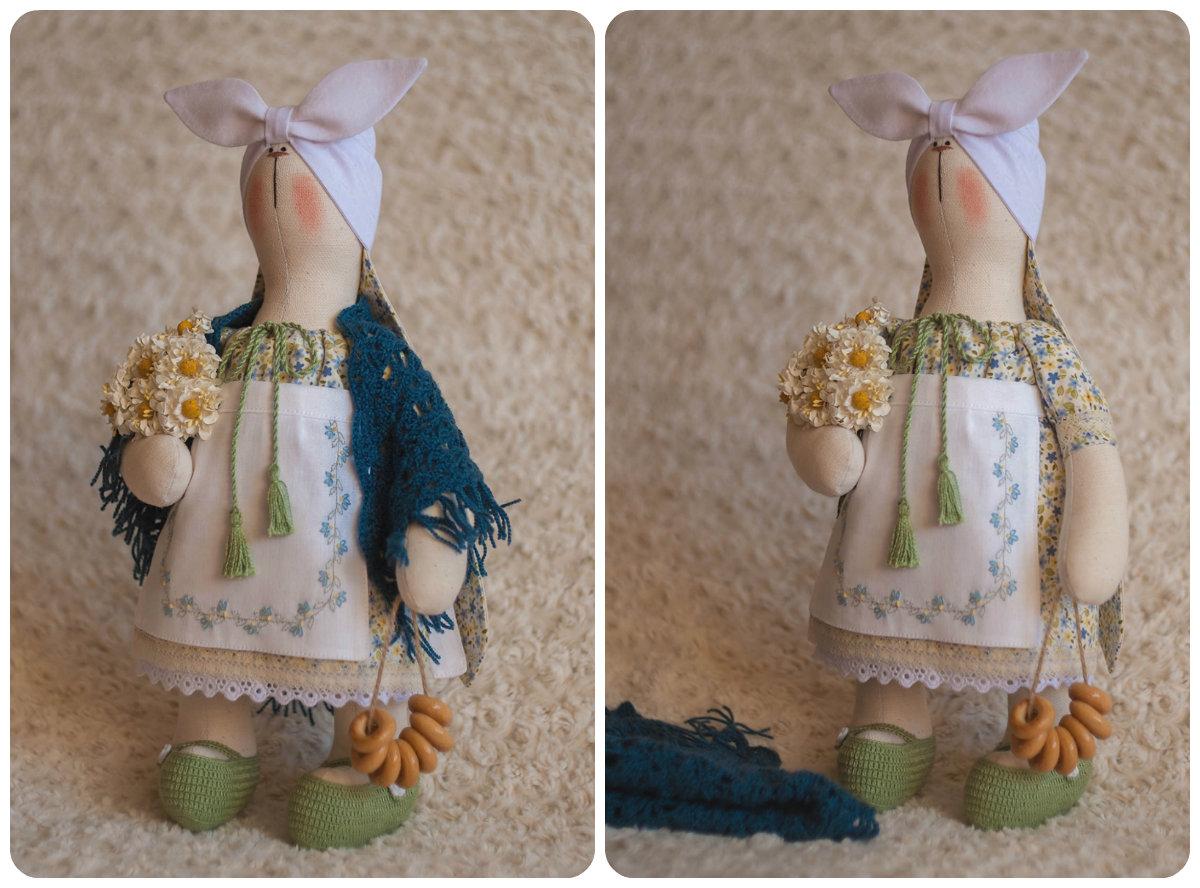Как сделать зайца тильда из ткани своими руками 37