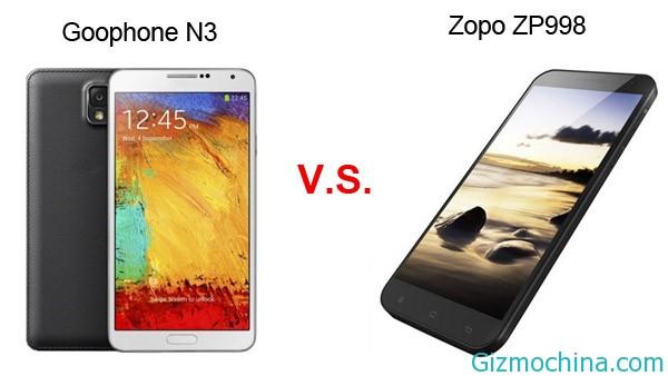 Сравнение характеристик 8 ми ядерных Zopo ZP998 и Goophone N3