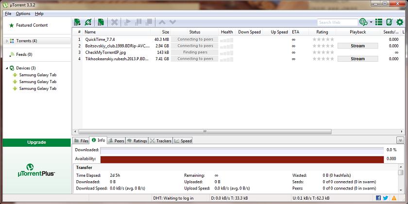 Descargar Utorrent 1.8.4 Free Download