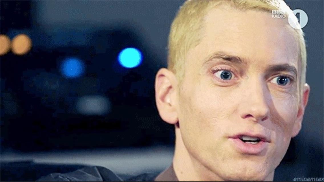 Image Gallery Eminem Blonde 2013