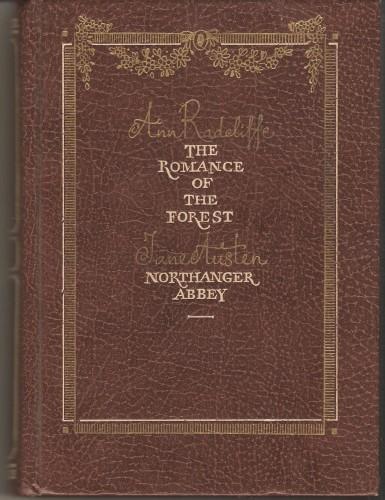 A. Radcliffe. The Romance of the Forest A815da3f24f0acdb99fc2518b6460867