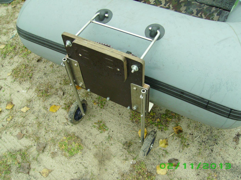 Установка на лодку подвесного двигателя