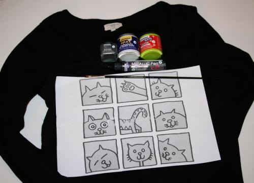 Как сделать футболку со своим рисунком своими руками