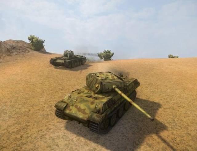 Panther M10 в WOT