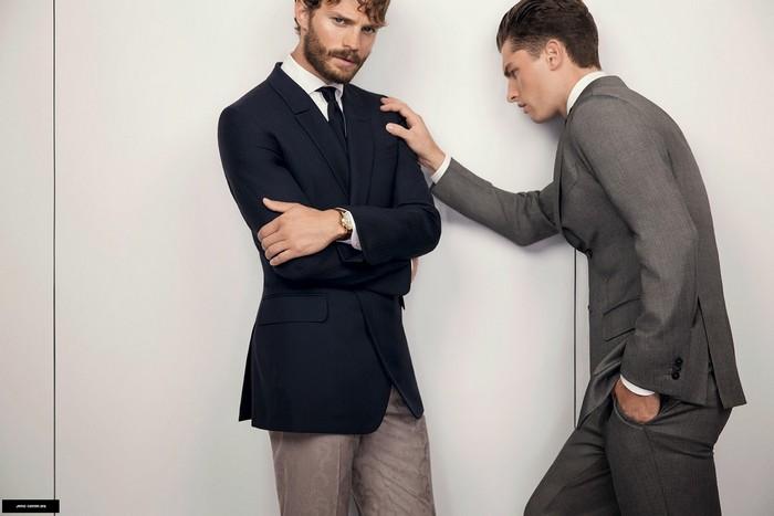50 Shades Of Grey Actor Jamie Dornan Photoshoot and Fashion Campaigns