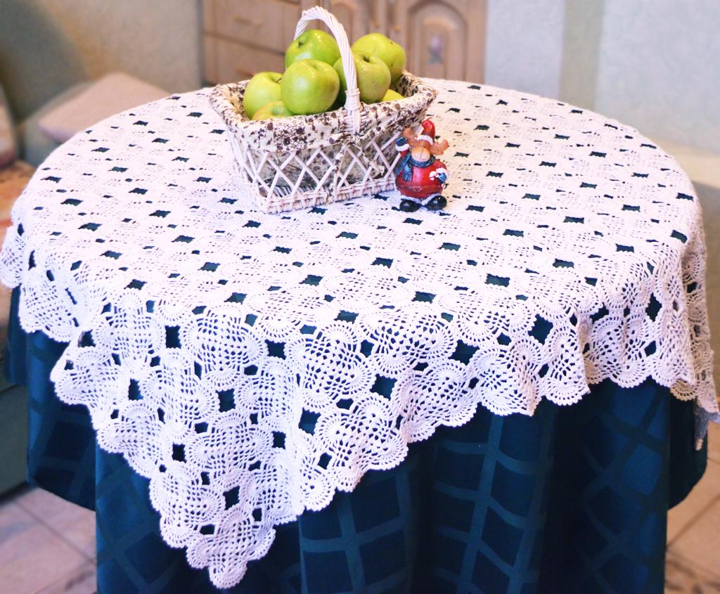 Вязание крючком декор дома
