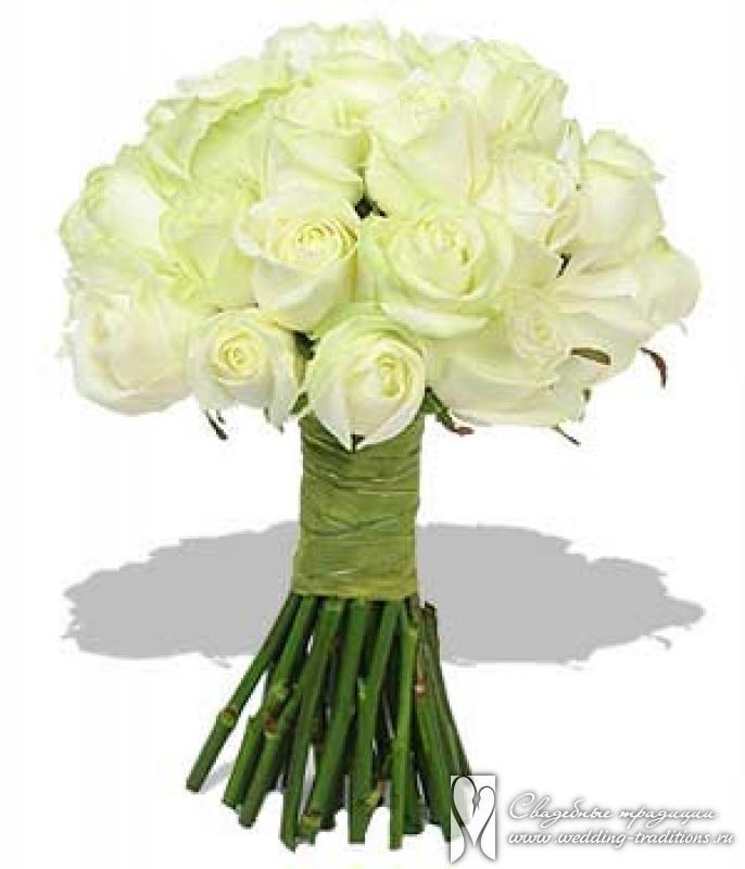 Плейкаст для тебя букет из белых роз