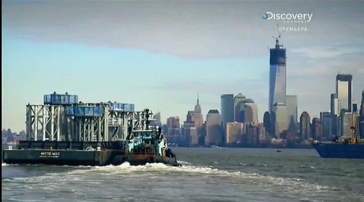 Discovery: Невероятный небоскреб (1-4 серия из 4) / Discovery: Super skyscrapers (2014) SATRip