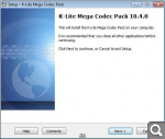 K-Lite Codec Pack 10.4.0 Mega/Full/Basic/Standard + Update (2014) PC