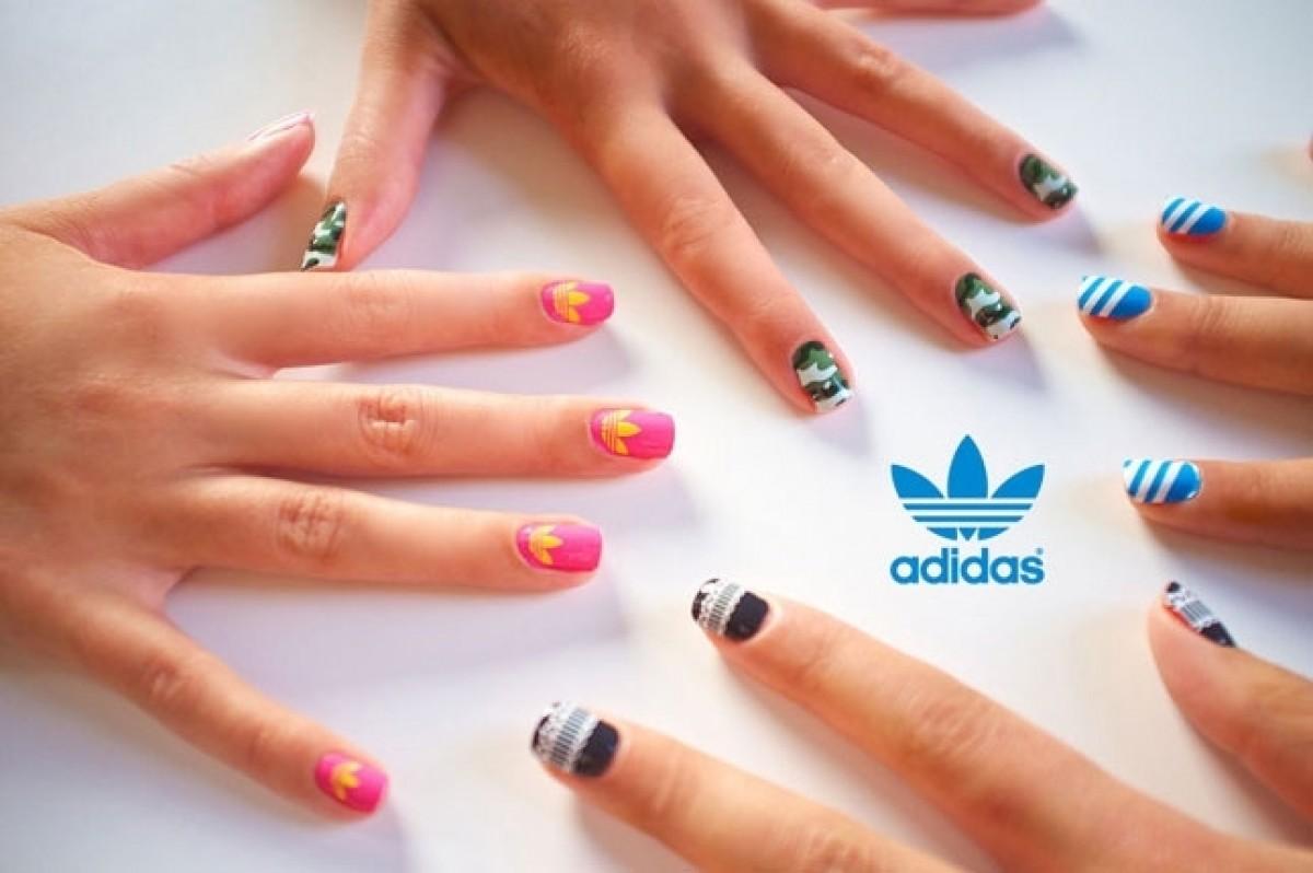 можете сделать фото нарощенных ногтей с адидасом пользователь